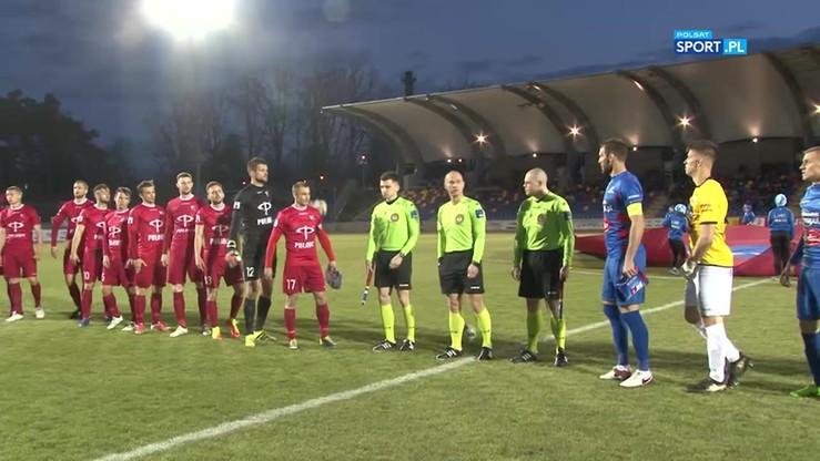 Wisła Puławy - Podbeskidzie 0:1. Skrót meczu