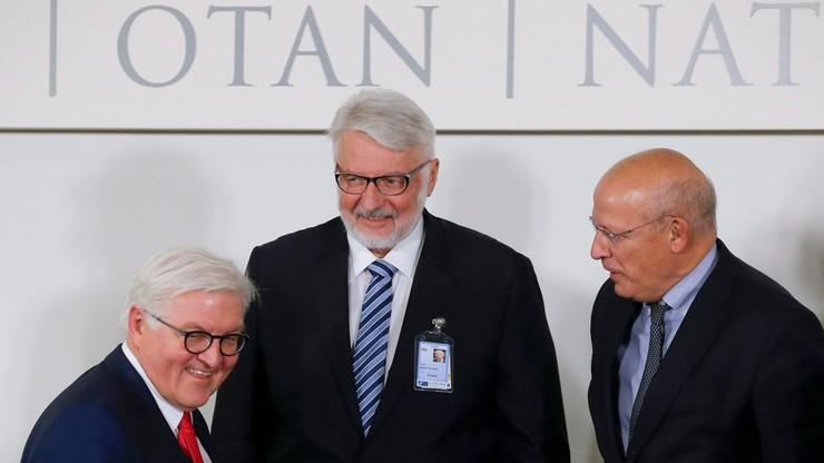 Waszczykowski pyta w NATO o sens dialogu z Rosją