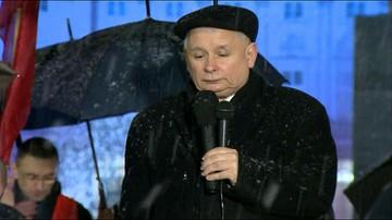 10-02-2016 23:15 Jarosław Kaczyński w 70. miesięcznicę katastrofy smoleńskiej: Polska musi być niepodległa
