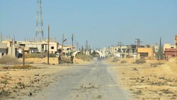 05-04-2016 15:15 Syria: rebelianci zestrzelili samolot wojskowy