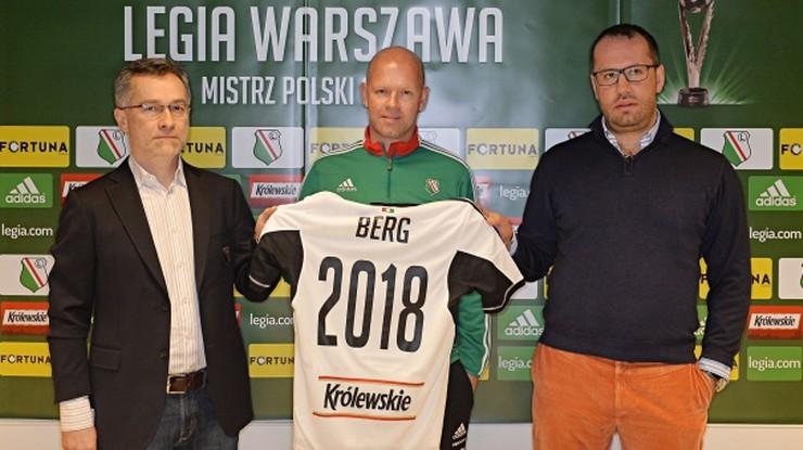 Berg przedłużył kontrakt z Legią