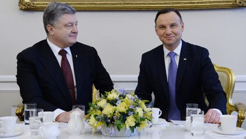 2016-12-02 Duda i Poroszenko krytykują decyzję KE ws. gazociągu OPAL