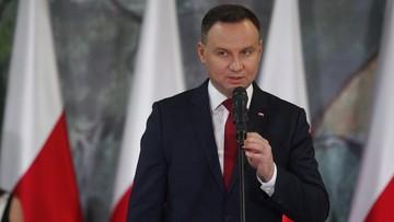 13-11-2017 17:09 Prezydent: boleję nad tym, gdy ktoś mówi o Polsce, która ma być tylko dla Polaków