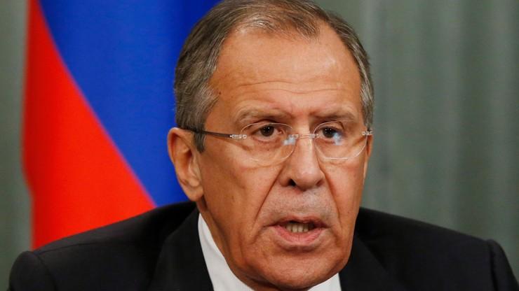 Ławrow: Rosja zawiesi ruch bezwizowy z Turcją od 1 stycznia 2016 r.