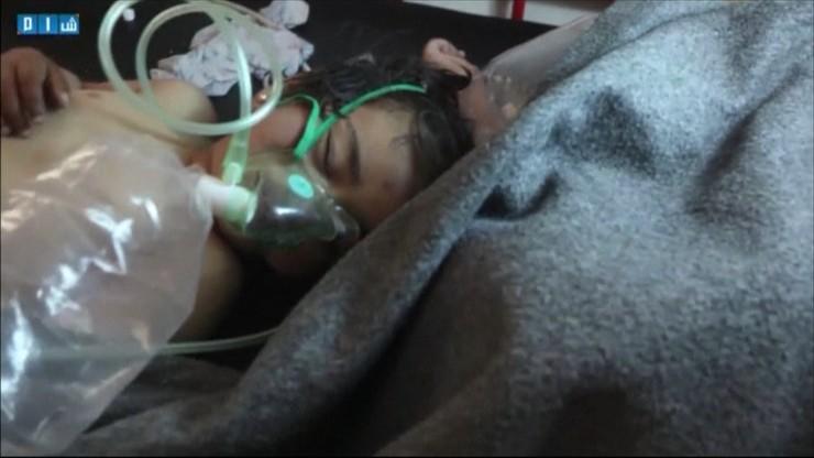 Atak chemiczny w Syrii. Zginęło co najmniej 100 osób, w tym dzieci