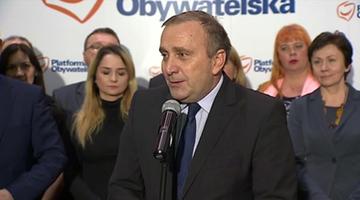 """19-11-2015 17:31 Schetyna oficjalnym kandydatem na szefa PO. """"Chcę wrócić do korzeni"""""""