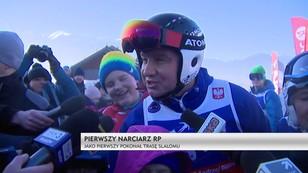 Pierwszy narciarz RP