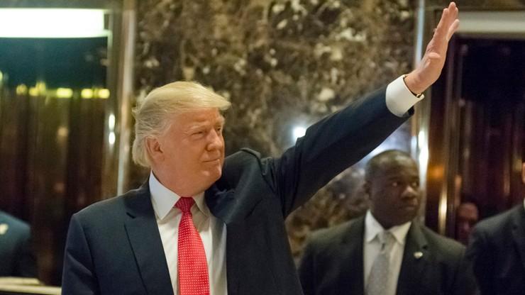 """Trump ogłoszony Człowiekiem Roku tygodnika """"Time"""""""