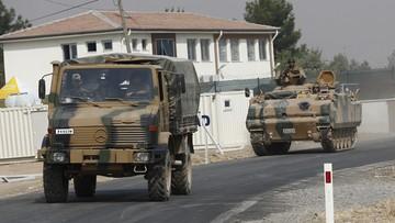 25-08-2016 12:23 Wspierani przez Turcję syryjscy rebelianci posuwają się na południe