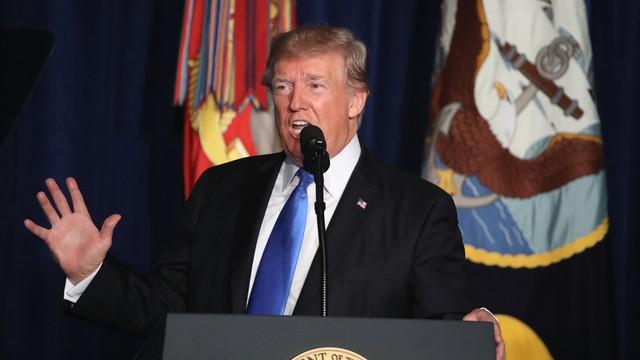 Trump wyśle więcej żołnierzy do Afganistanu. Prezydent USA przedstawił nową strategię