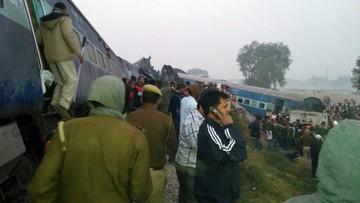 20-11-2016 13:31 Wzrosła liczba ofiar śmiertelnych katastrofy kolejowej w Indiach