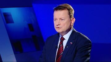 Człowiek-porażka. Minister Błaszczak o Donaldzie Tusku