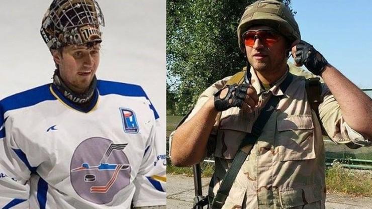 Grał w Polsce, walczy na Ukrainie. O bramkarzu, który zamienił kij hokejowy na granatnik przeciwpancerny