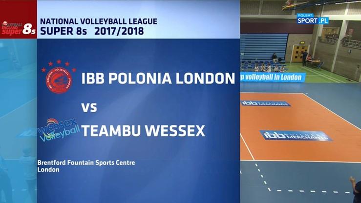 IBB Polonia Londyn – Wessex Volleyball Club 3:0. Skrót meczu