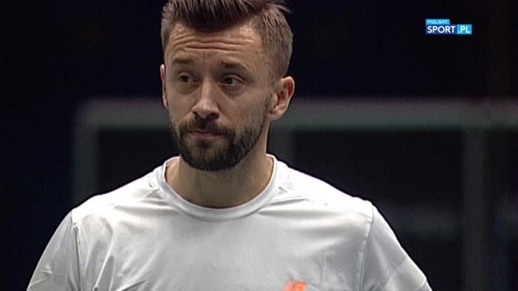 Michał Przysiężny - Juergen Melzer 0:2. Skrót meczu
