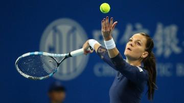 2015-10-17 WTA w Tiencinie: Radwańska - Kovinić. Transmisja w Polsacie Sport