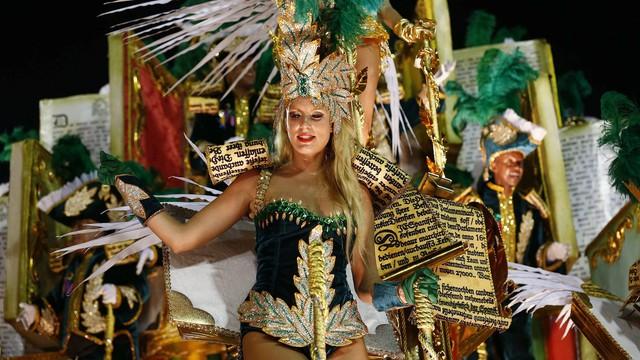 Kończy się karnawał w Rio - przyciągnął milion turystów