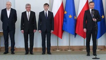 29-04-2016 21:43 Rzepliński u prezydenta. Nie założył krawata