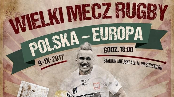 Wielkie gwiazdy rugby zagrają w Łodzi