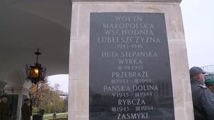 Coraz ostrzej na linii Warszawa-Kijów. Tablice Macierewicza stosunków z Ukrainą nie poprawią