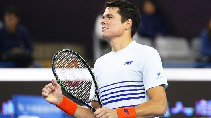 ATP Finals: Raonic zapewnił sobie udział po raz drugi w karierze