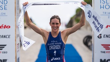 2017-11-14 Medal w maratonie celem mistrzyni olimpijskiej w triathlonie