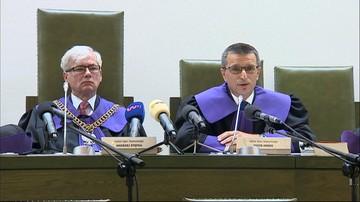 01-08-2017 10:04 Sąd Najwyższy zawiesił postępowanie ws. Mariusza Kamińskiego i innych byłych szefów CBA