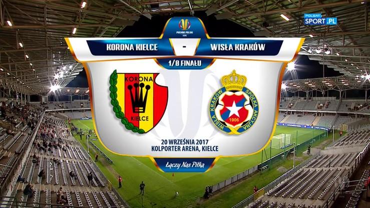 Korona Kielce - Wisła Kraków 1:0 (po dogrywce). Skrót meczu