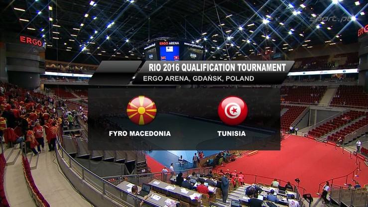 Macedonia - Tunezja 26:32. Skrót meczu