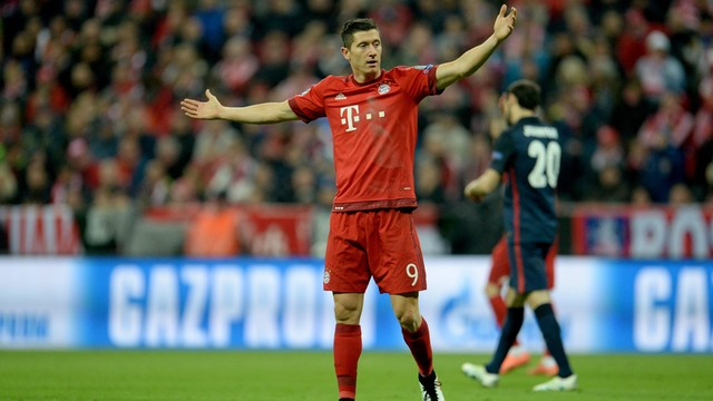 Bayern mistrzem, dwa gole Lewandowskiego