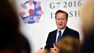 """27-05-2016 09:43 """"Nigdy nie byłem ukrytym Brexiterem"""". Cameron zapewnia o lojalności wobec UE"""