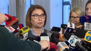 Beata Mazurek o wakacie na stanowisku wicemarszałka Sejmu