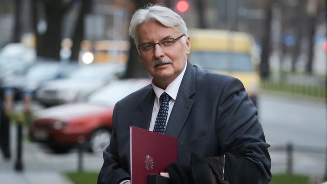 Waszczykowski: Premier rozmawiała z szefem KE nt. środowej debaty o Polsce