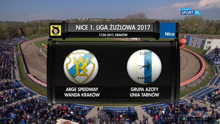 Arge Speedway Wanda Kraków – Grupa Azoty Unia Tarnów 46:44. Skrót meczu