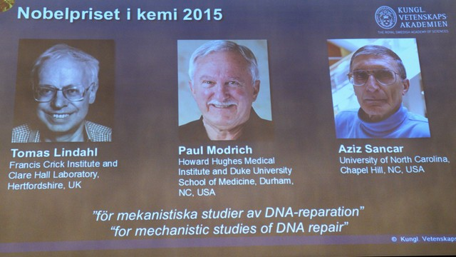 Nobel z chemii za badania mechanizmów naprawy DNA
