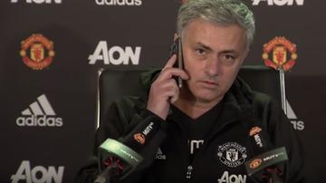 2017-01-14 Mourinho szokuje na konferencji! Pokazał nieznaną twarz