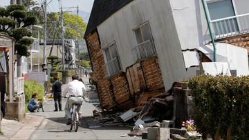 15-04-2016 19:21 Japonia: trzęsienie ziemi o sile 7,4. Możliwe tsunami