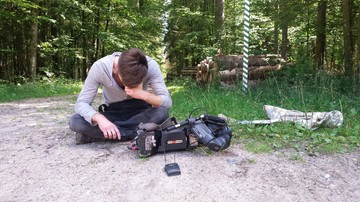 29-07-2017 18:31 Operator Polsat News pobity w Puszczy Białowieskiej