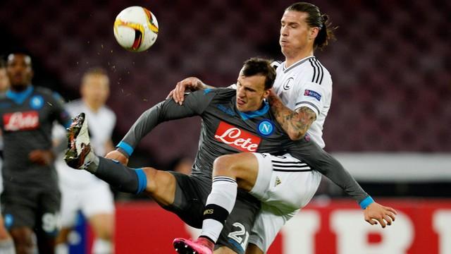 LE: Legia przegrała z Napoli