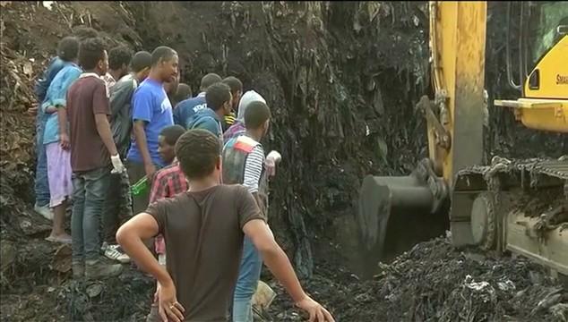 Etiopia: Już 113 ofiar śmiertelnych katastrofy na wysypisku śmieci