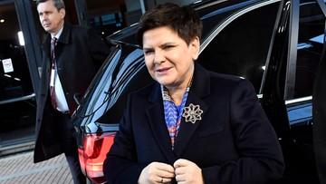 """17-11-2017 12:15 Beata Szydło na unijnym szczycie w Goeteborgu. """"Nie będzie mądrej polityki prospołecznej, jeśli w Europie będzie pokusa protekcjonizmu"""""""