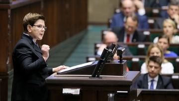 18-11-2015 12:14 Szydło w expose: polska polityka będzie inna. Koniec z arogancją władzy i koniec z pychą