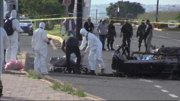 01-10-2016 06:37 Atak kartelu narkotykowego na konwój wojskowy w Meksyku. Są zabici i ranni