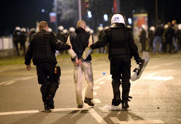 KGP o 11 listopada: ponad 270 osób zatrzymanych, 51 policjantów rannych