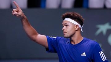 2017-11-24 Puchar Davisa: Francja remisuje z Belgią po pierwszym dniu finału