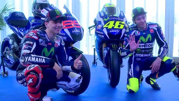 Rossi i Lorenzo z nowymi maszynami! Prezentacja Movistar Yamahy