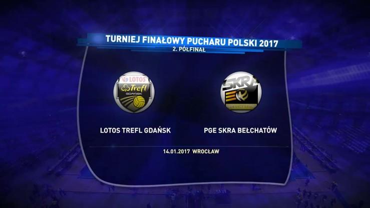 Lotos Trefl Gdańsk - PGE Skra Bełchatów 0:3. Skrót meczu
