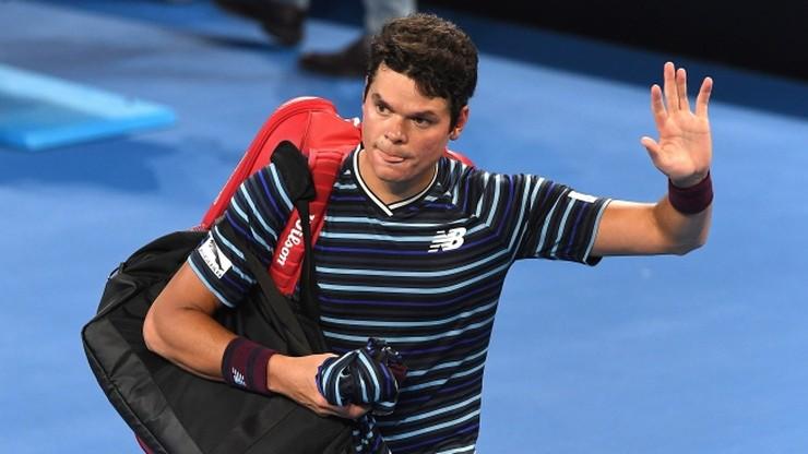 ATP w Brisbane: Raonic wyeliminowany przez 18-latka