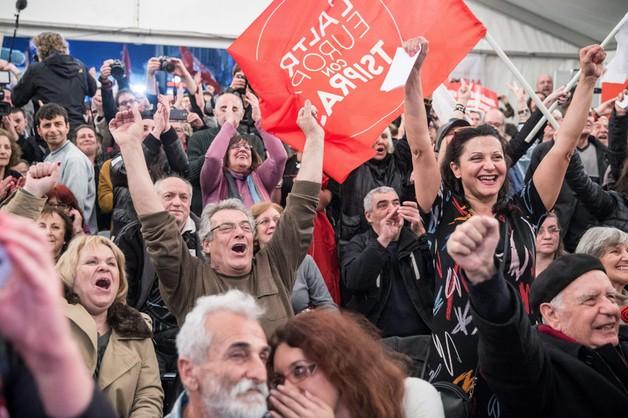 SYRIZA zwyciężyła w wyborach w Grecji