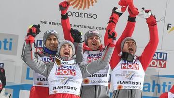 04-03-2017 18:16 Polscy skoczkowie mistrzami świata! Wspaniały konkurs biało-czerwonych